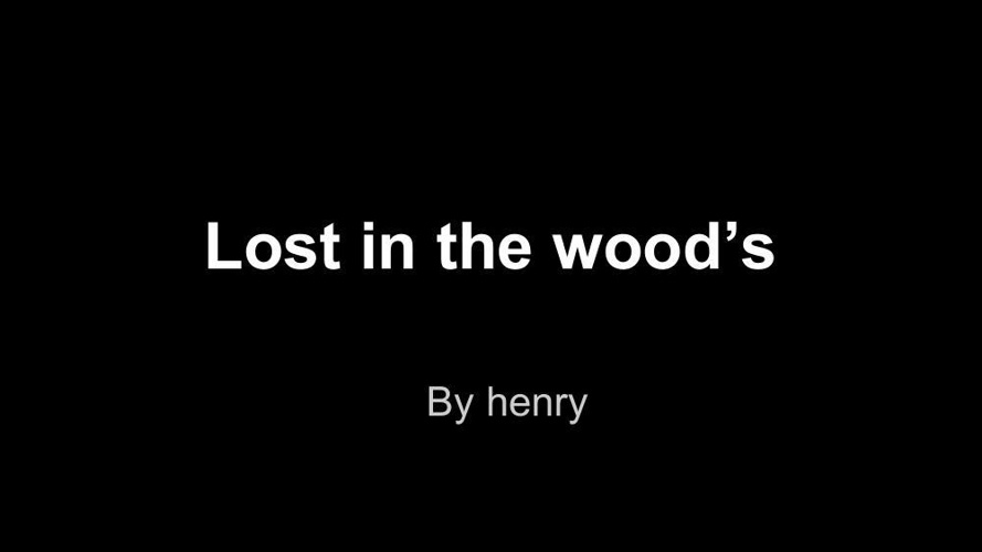 Lost in the wood's (3)
