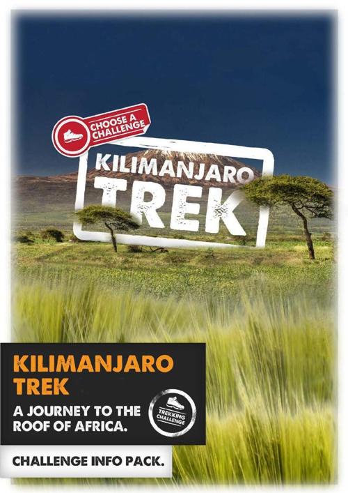 Kilimanjaro Challenge Info Pack 2