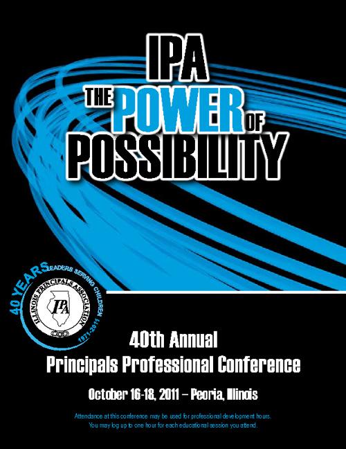 2011 Principals Professional Conference Agenda