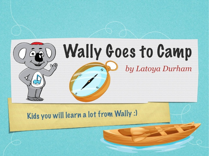 Wally Goes To Camp