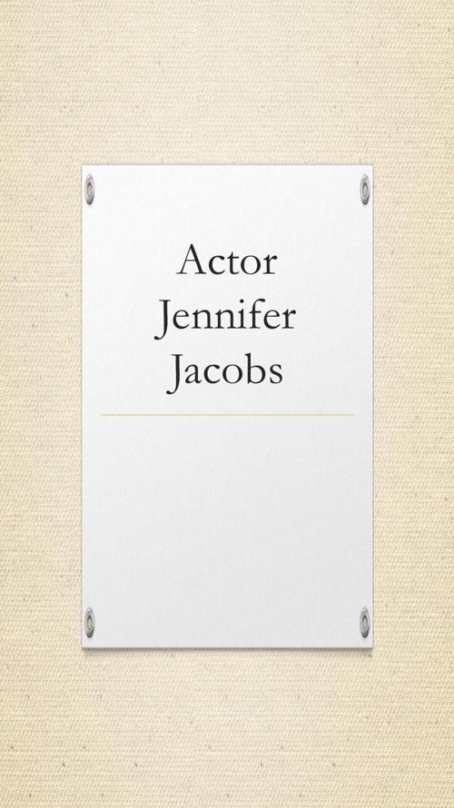 Jenifer Jacobs Journal