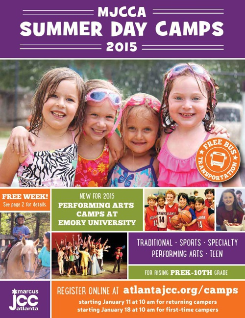 MJCCA |  Summer Day Camps Catalog 2015