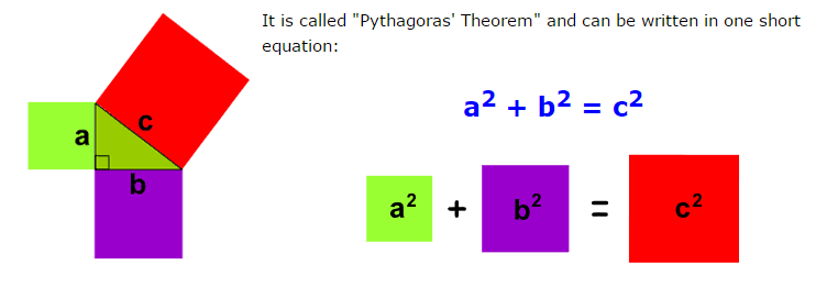 Solve for the Pythagorean Theorem