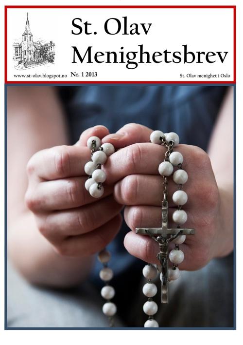 St. Olav menighetsbrev nr. 1 2013