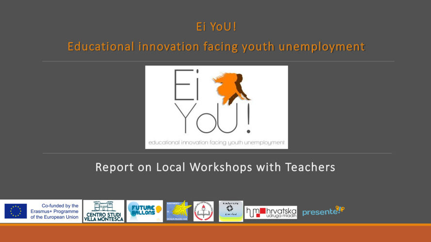 EiYou! Report on Teacher workshops