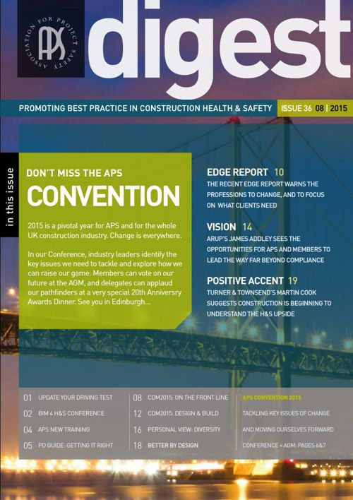 APS DIGEST Issue 36 - e-news