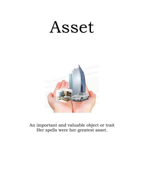 Asset vocabulary cassie coldstone