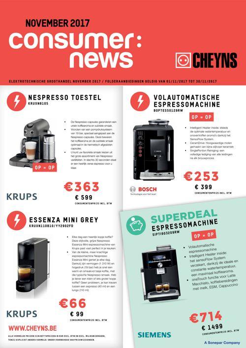 Consumer News November 2017 - NL