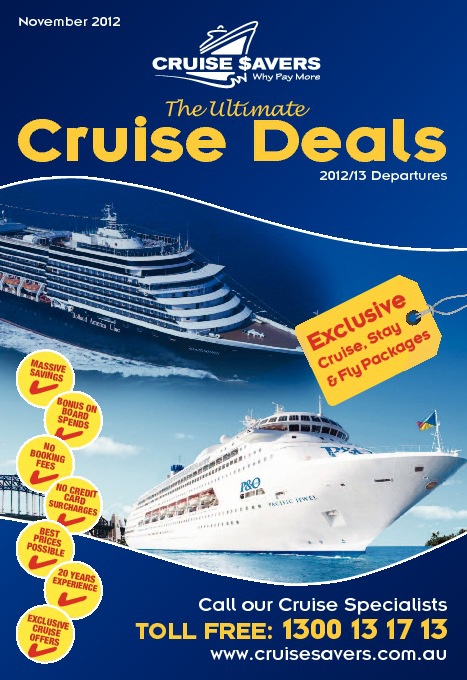 Cruise Savers - Ultimate Cruise Deals - November