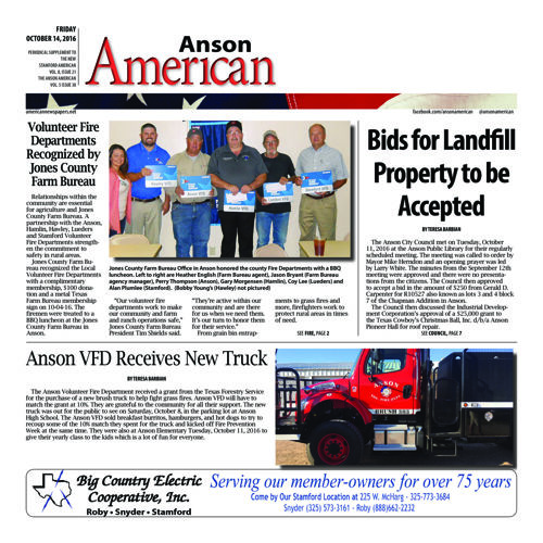 Anson - Vol 8 Issue 15
