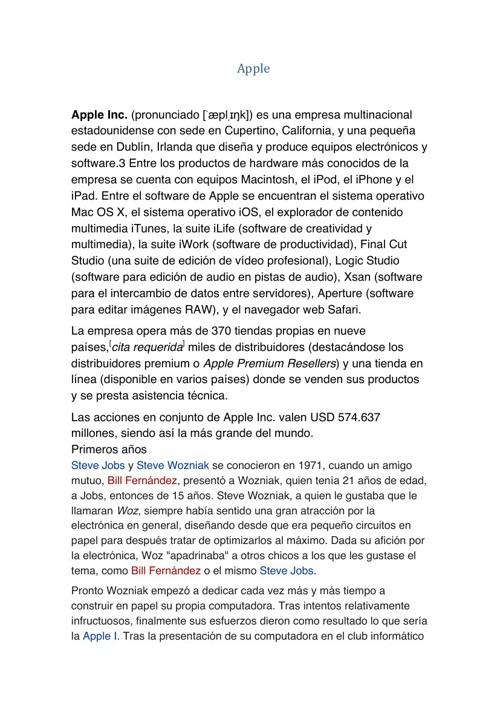 apple  y redes sociales