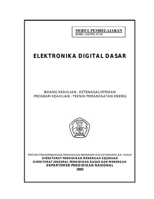 Elektronika Digital Dasar