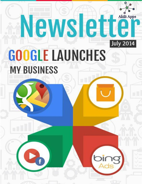 Newsletter AkiliApps July 31, 2014