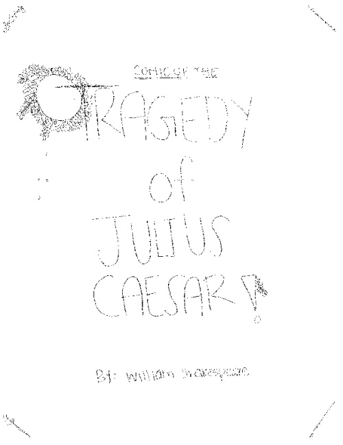 Group 6 The Tragedy of Julius Caesar