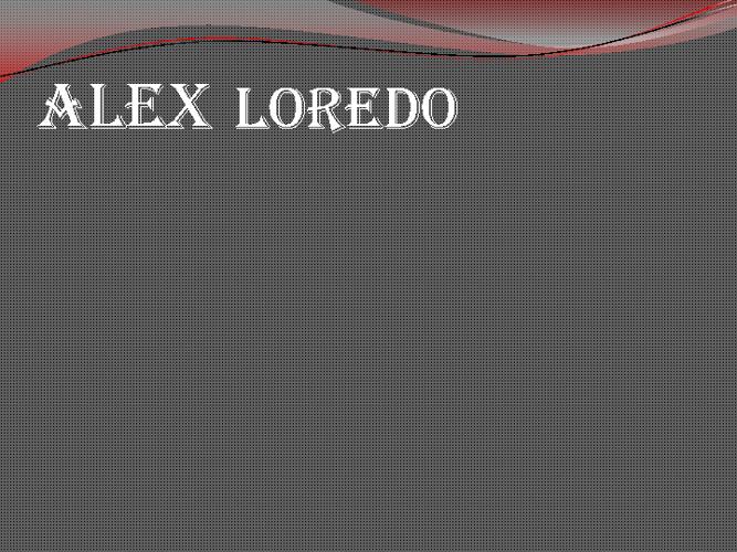 Alex Loredo