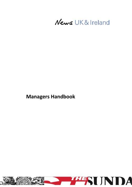 Managers Handbook (Ireland) - FINAL