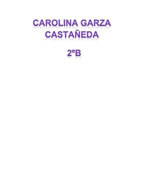 Carolina Garza 2ºB Texto expositivo