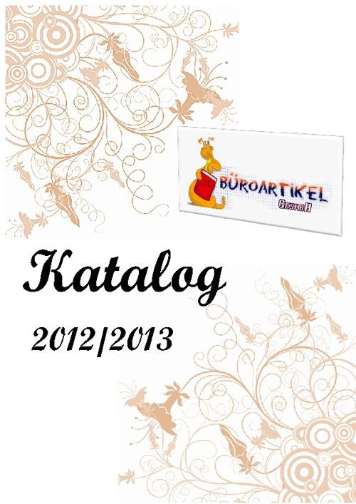 Katalog 2012/13