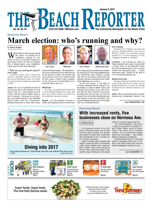 The Beach Reporter   January 5, 2017