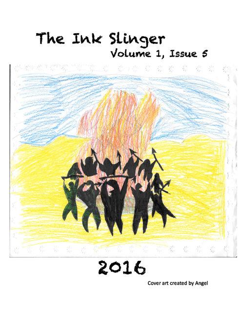 7th grade Ink Slinger Volume 1, Issue 5