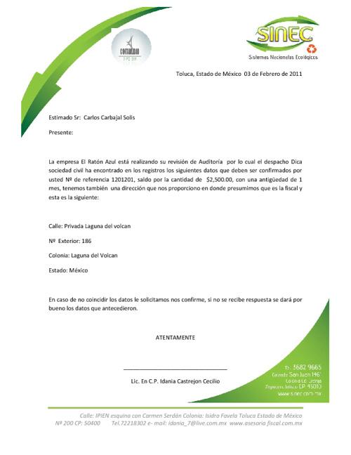 PRIMER EJERCICIO DE COMBINACION DE CORRESPONDENCIA