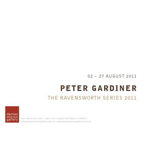 Peter Gardiner–Damien Minton Gallery