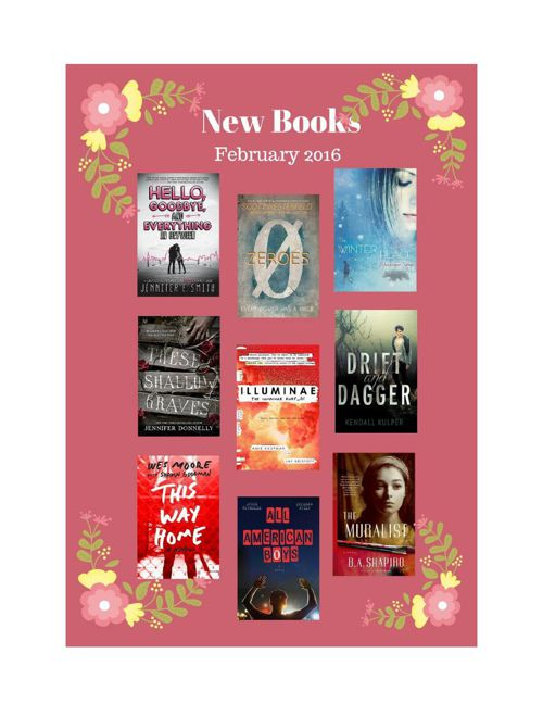 New Books February 2016