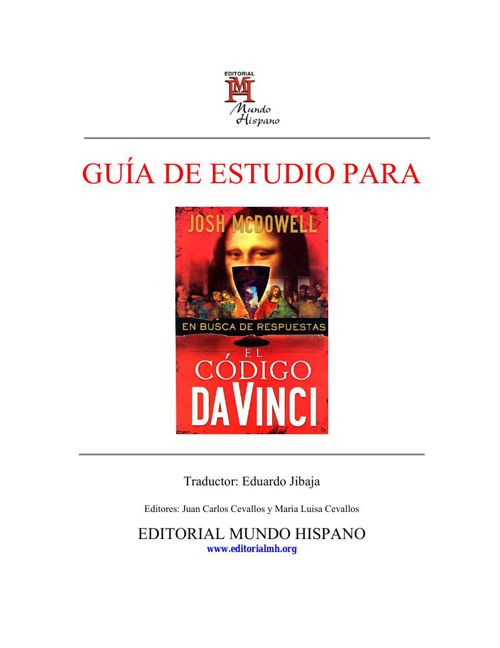Código Da Vinci: En busca de respuestas