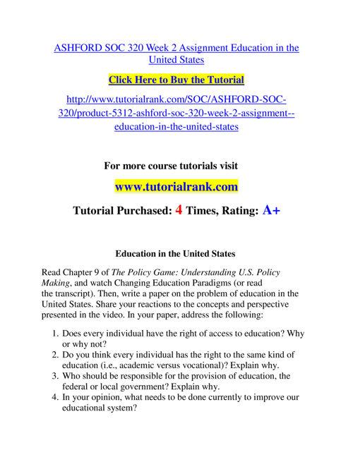 SOC 320 Slingshot Academy / Tutorialrank.Com