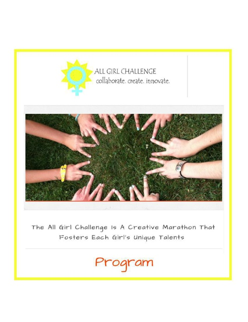 PROGRAM: All Girl Challenge