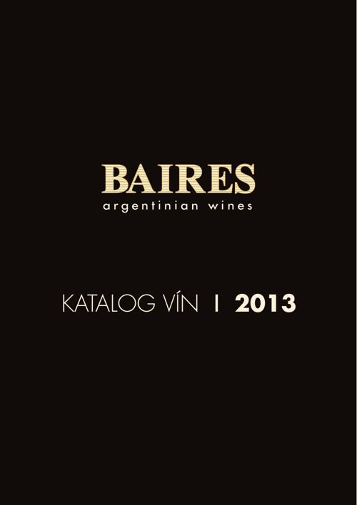 Baires – katalog argentinských vín 2013