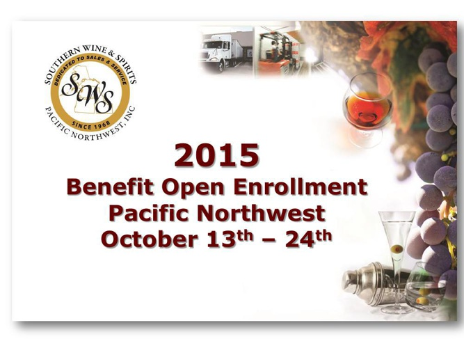 2015 Benefit Open Enrollment Changes
