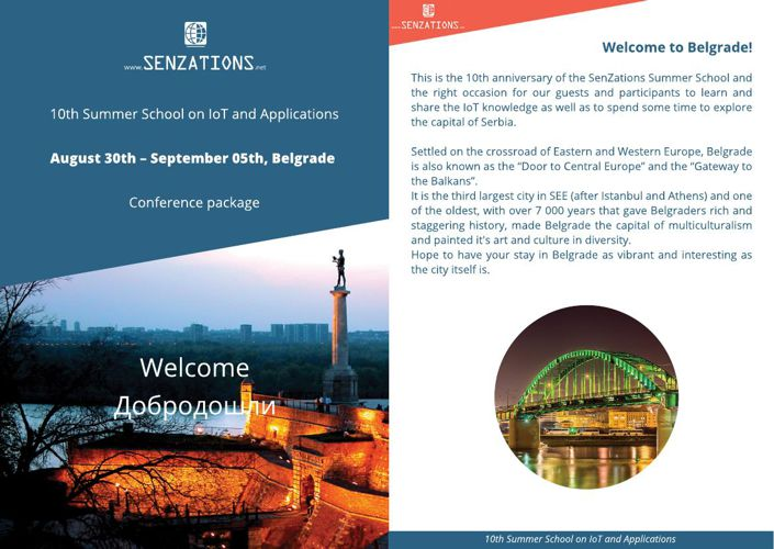 SenZations 2015 Conference Package