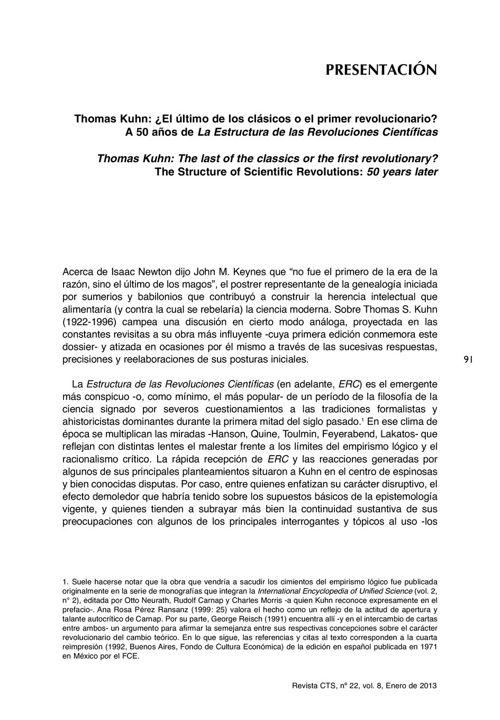 VOL08/N22 - Presentación