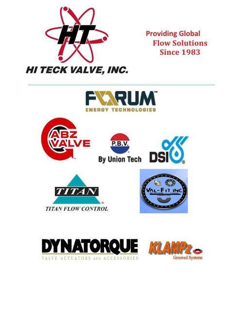 Hi Teck Valve Product Catalog