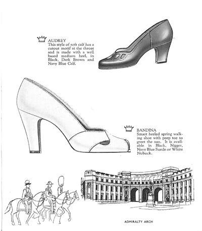 Van dal Brochure of Spring Shoes | 1953