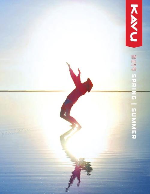 KAVU Spring/Summer 2014 catalog
