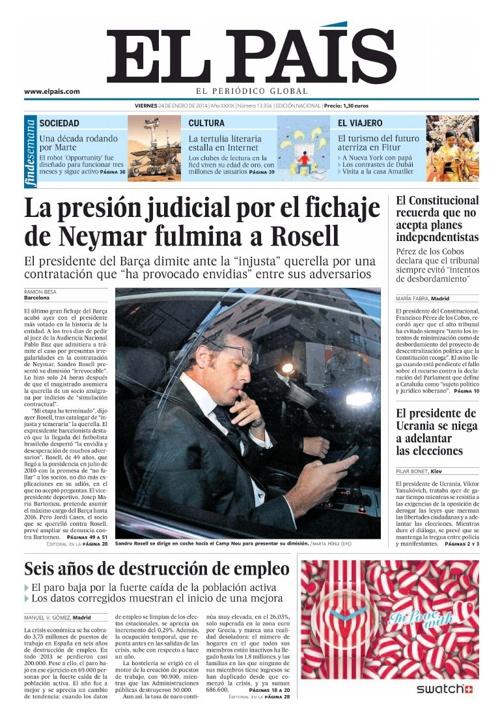 El País – 24 Enero