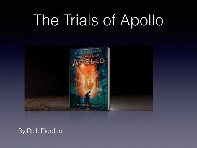 Trials of Apollo Book Talk