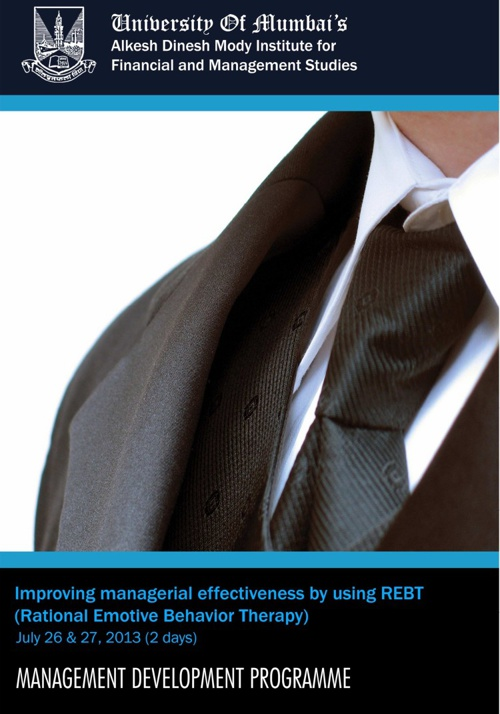 Management Development Programme: REBT