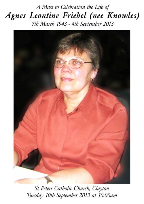 Agnes Friebel
