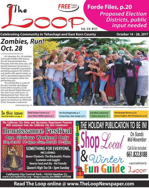 The Loop Newspaper Vol 33 No 07 - Oct 14 to 28, 2017