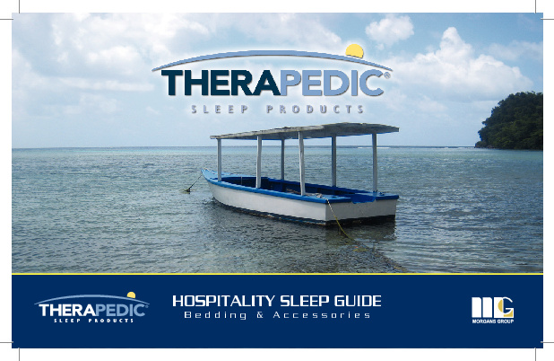Therapedic Hospitality Flip Book