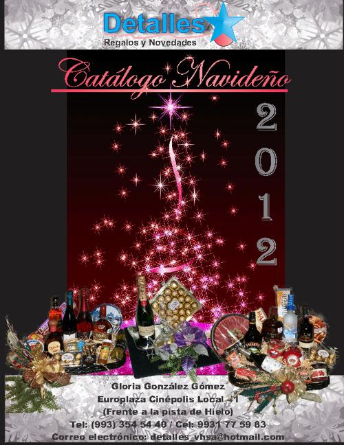 Canastas Navideñas 2012