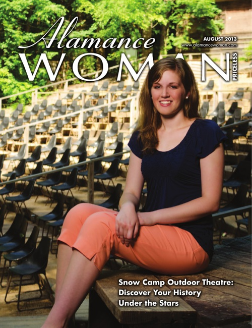 Alamance Woman Magazine - August 2013 - 3RD PROOF - 8-1-2013 - 1