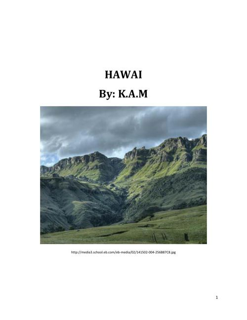 KM's HAWAII