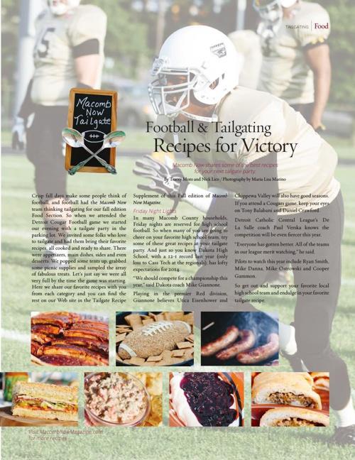 Fall - 2014 Recipe Supplement