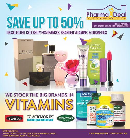 PharmaDealOnline.com.au Catalogue - OCT 2016