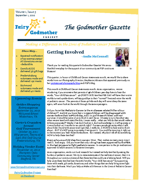 FGP's September Newsletter