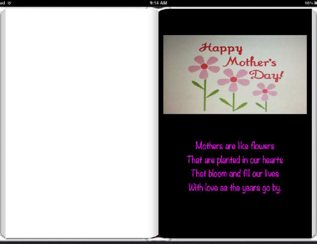 Mother's Day Book-Mrs. Cohn